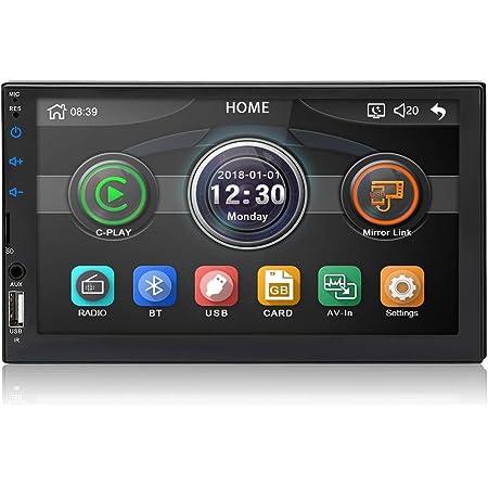 Micarba Doppel Din Auto Stereo Bluetooth Radio Video Elektronik