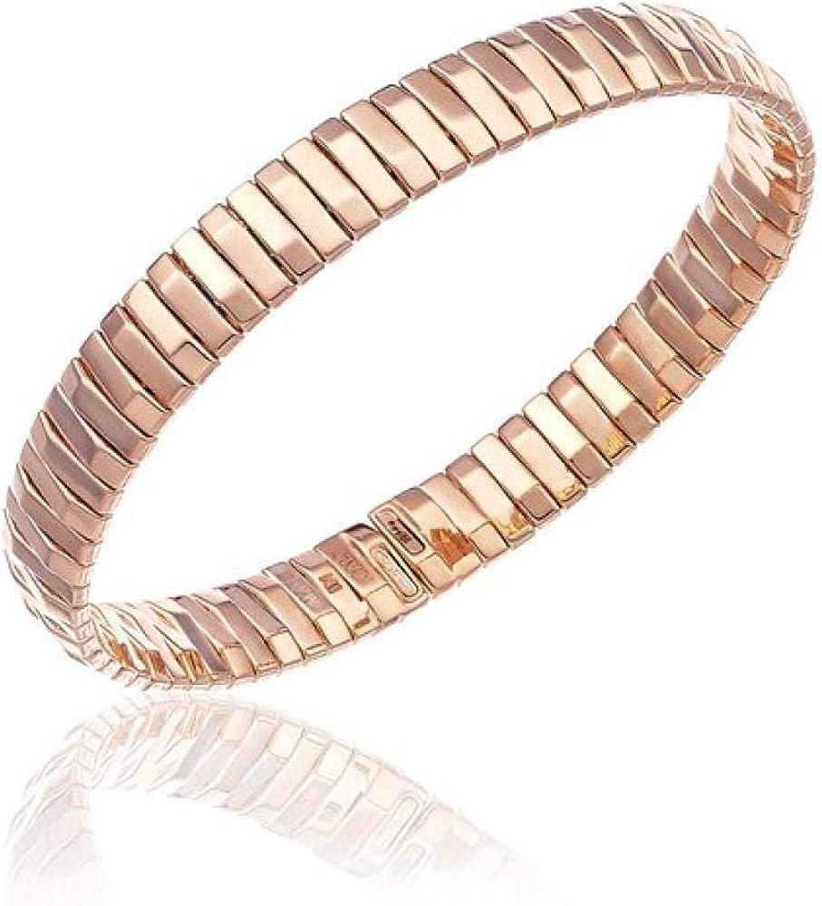 Chimento bracciale per donna , in oro rosa 9 k/375(10,02 GR) 2B00760ZZ6180