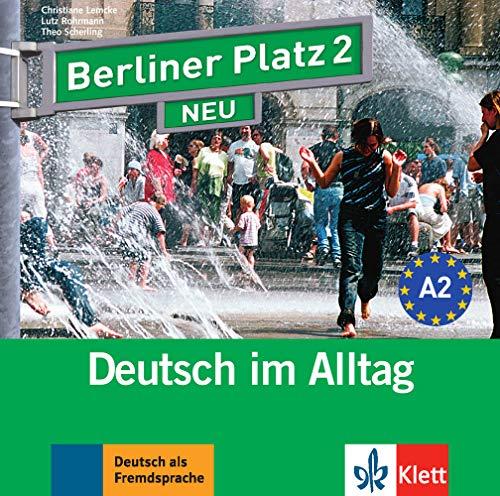 Berliner Platz 2 NEU: Deutsch im Alltag. 2 Audio-CDs (Berliner Platz NEU) [HD DVD]