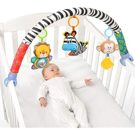 88cm ベビーカークリップ ベビーカー ベッド 挟むだけ 脳を育む すくすくあそび ベビーベッドおもちゃ ベッドクリップ おでかけ 簡単に眠り 出産祝い プレゼント