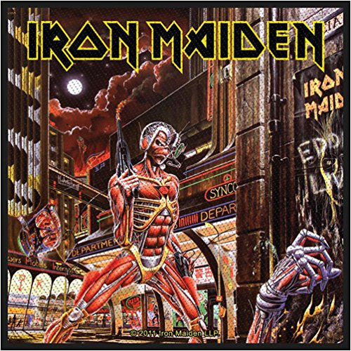 Iron Maiden - Somewhere Back In Time standard patch multicolours