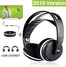 Monodeal Wireless Headphone for TV Watching Listening, Rechargeable Wireless TV Headset..
