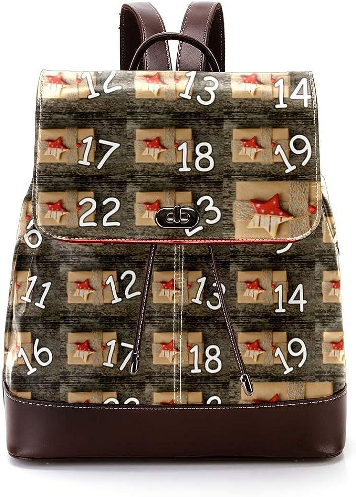 Gifts PU Leather Backpack Fashion Shoulder Bag Rucksack Travel Bag for Women Girls
