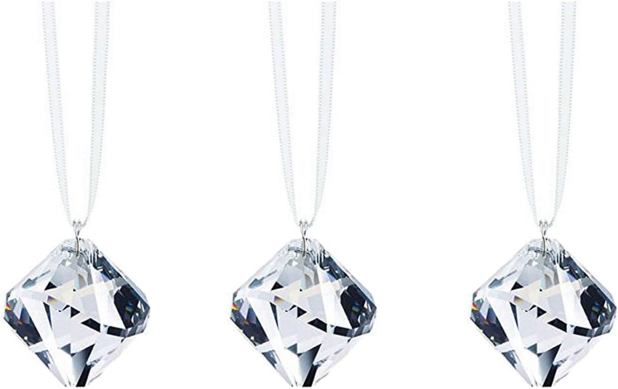 Swarovski Strass Crystal Prism Set Clear 3 Pendant Ball Sale SALE% low-pricing OFF