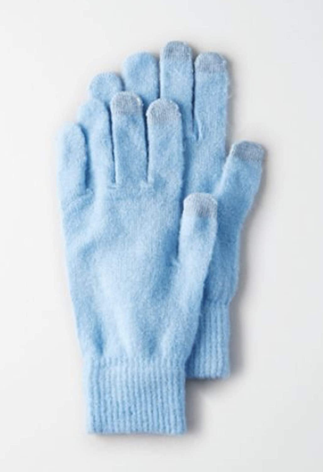 American Eagle AE Women's Solid Touchpoint Gloves (Soft Blue) AEO Glove