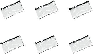 Best small clear vinyl zipper bags Reviews