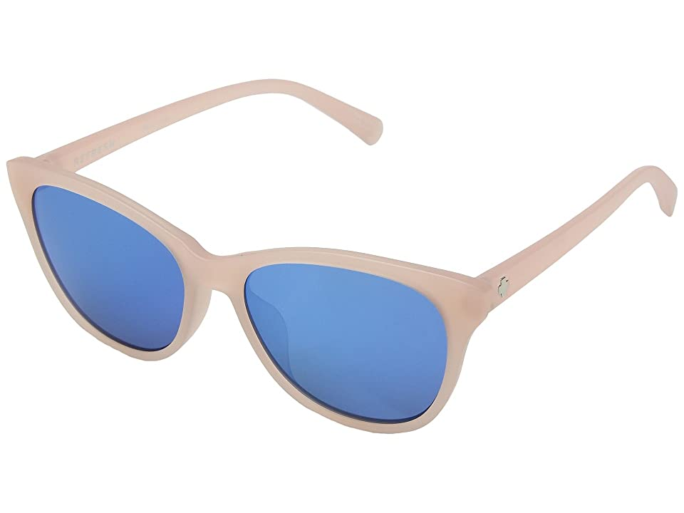 Spy Optic Spritzer (Matte Translucent Blush/Gray/Light Blue Spectra) Sport Sunglasses