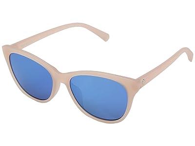 Spy Optic Spritzer (Matte Translucent Blush/Gray/Light Blue Spectra) Sport Sunglasses