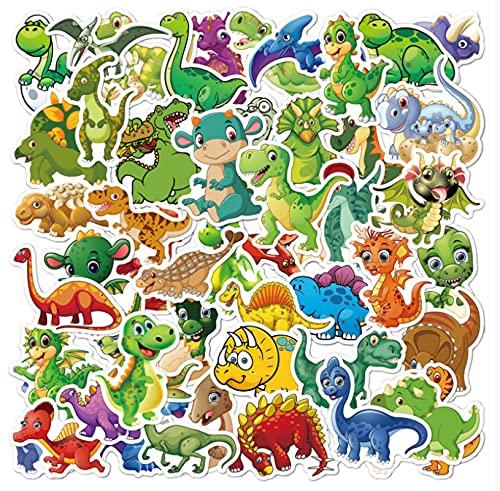 GSNY Tyrannosaurus Rex, Pegatinas de Graffiti para niños, Pegatinas de Dibujos Animados, Equipaje, Scooter, Taza de Agua, Pegatinas de Dinosaurio Impermeables, 50 Hojas