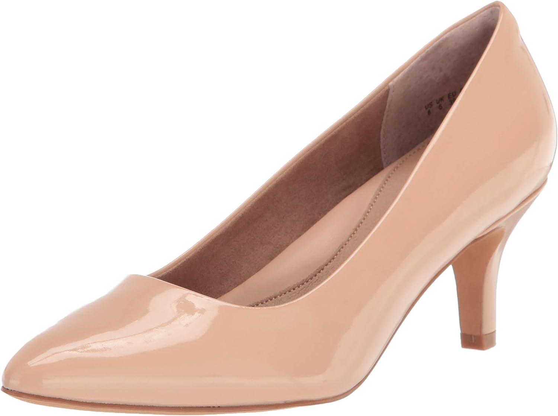 Amazon Essentials Women's Round Toe Medium Heel Pump