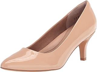 Women's Round Toe Medium Heel Pump
