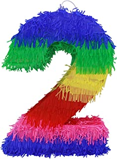 colorful number 2