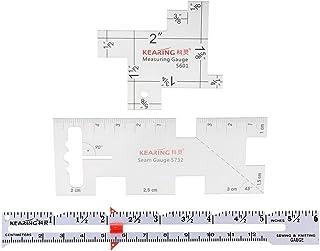 PQZATX Stiratura di Strumenti di Cucito Patchwork Righello di Misurazione per Abbigliamento Misurazioni Fare Forniture di Cucito DIY