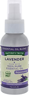 Natures Truth Lavender Rejuvenating Essential Oil Mist by Natures Truth for Unisex - 2.4 oz Spray, 71 ml