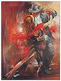 Artopweb TW14344 Alvarez - Tango argentino II Dekorative Paneele, Multifarbiert, 60x80 Cm