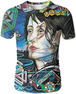 DaigMeng Todd Rundgren Womens T-Shirt Summer Print Short Sleeve Top