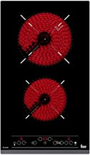 Teka TR 3220 Integrado Cerámico Negro - Placa (Integrado, Cerámico, Vidrio y cerámica, Negro, 1200 W, Alrededor)