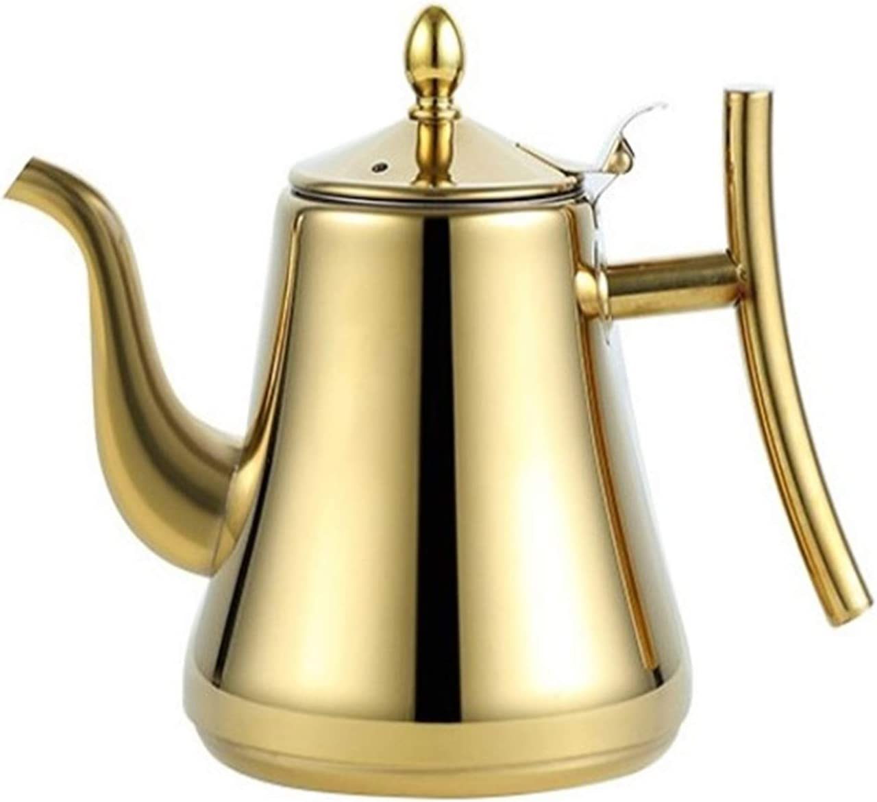 Stainless Steel gift Teapot Stovetop Tea Kettle With Free Shipping New Coffee Filt Pot