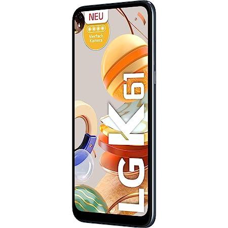 "LG K61 - Smartphone 16.6 cm (6.53""), 4 GB, 128 GB, 48 MP, DS, Android 9.0, Titan Grey"