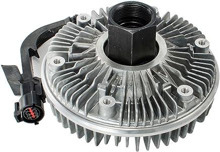 HEX AUTOPARTS Electric Radiator Cooling Fan Clutch for Dodge Ram 2500 3500 Pickup Truck L6 Diesel 2003-2009