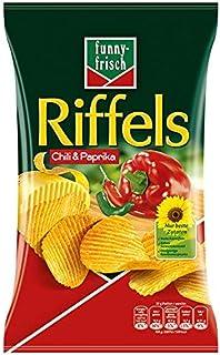 funny-frisch Riffels Chili und Paprika, 10er Pack 10 x 150 g