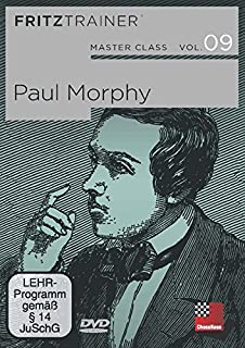 Master Class Vol. 9: Paul Morphy -- Chess Biography - Software PC-DVD