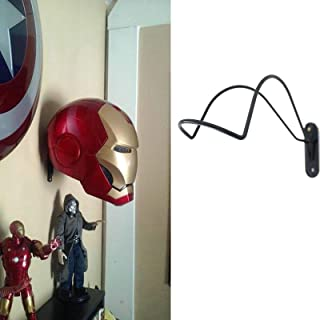 Strong Iron Rack for Avengers Iron Man Electronic Helmet/Scout Trooper Helmet | Wall Mounted | Helmet Storage Display | The Avengers Costume Helmet Collection Wall Hanger Stand | No Helmet