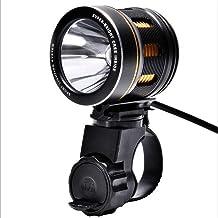 GZCRDZ 1000 Lumen Zaklamp, 6 Modes, Fietslicht CREE XM-L T6 LED Koplamp Fietsen Fietslicht Waterdichte Koplamp Camping vis...
