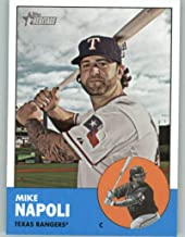 2012 Topps Heritage #485 Mike Napoli NM-MT SP Texas Rangers Official MLB Baseball Card