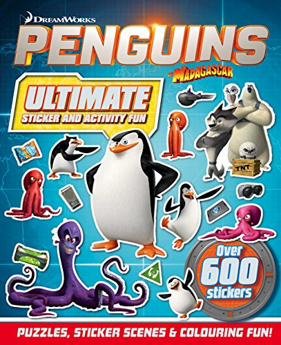 Penguins of Madagascar: Ultimate Sticker & Activity Fun
