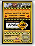 SP-145 - MEDICAL SERVICES & FIRST AID SAFETY COMPLIANCE LIBRARY - OSHA - 29 CFR 1910.151 133 1926.50 1st - UPC - 639737375329