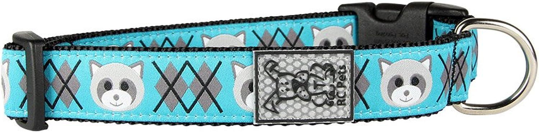 RC Pet Products 3 4  Adjustable Dog Collar, Small, Raccoon