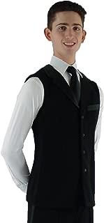 MDV05 Mens Medium-Length Dance Vest with Satin Lapel