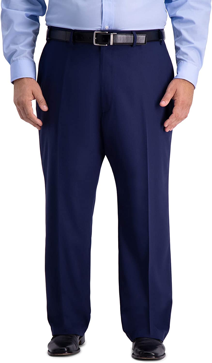 Haggar Men's Big & Tall B&t Active Series Stretch Classic Fit Suit Separate Pant