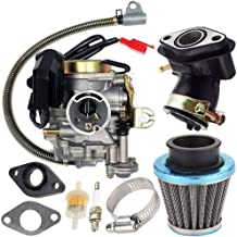 139QMB Carburetor for GY6 50CC 49CC 4 Stroke Scooter...