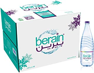 Berain Bottled Drinking Mineral Water, 12 X 1.5 Litre - Pack of 1