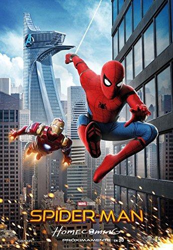 Spiderman: Homecoming – Spanish Movie Wall Poster Print – 30 x 43 cm