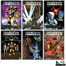 Shadow Raiders Volumes 1-6 (Uncommon Hero, A Dangerous Enemy, Final Hours, Alliance Attacks, New Worlds, Final Conflict)