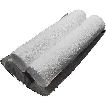 おしぼり 業務用 ハンドタオル 100匁 白 正方形 1枚