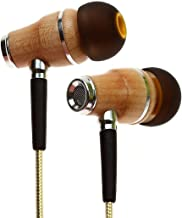 Symphonized NRG 2.0 Earbuds with Microphone, Noise Isolating Headphones Earbuds Heavy Deep Bass Earphones Ear Buds, in Ear Headphones for iPhone Android Phone iPad Tablet Laptop and More (Gold)