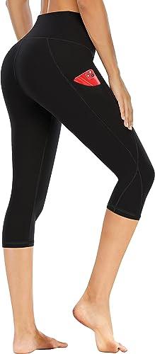 Ewedoos Leggings with Pockets for Women High Waisted Yoga Pants for Women with Pockets Soft Workout Leggings for Women