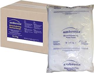 Nordzucker 5 x Ambrosia Futterteig im praktischen 2,5kg Portionspack Preis pro kg 2,00 Euro