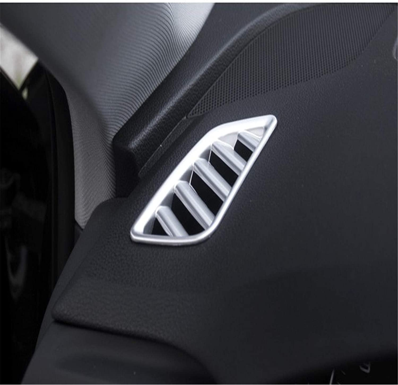 TPHJRM Car Styling Aire Acondicionado Rejillas de ventilaci/ón Cubierta del Marco embellecedor Accesorios Interiores Tira de Salida de Aire Pegatinas Interior para Audi A4 B9 2017