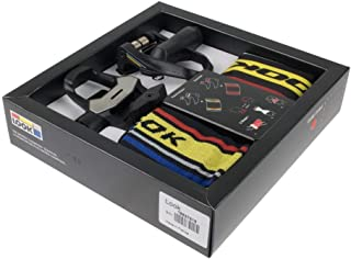 Look Keo 2 Max 2017 Special Set Includes pedals socks and a convertible hat/neck warmer Black/ProTeam L/XL