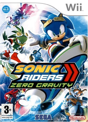 Third Party - Sonic riders : zéro gravity Occasion [ WII ] - 5060138435278