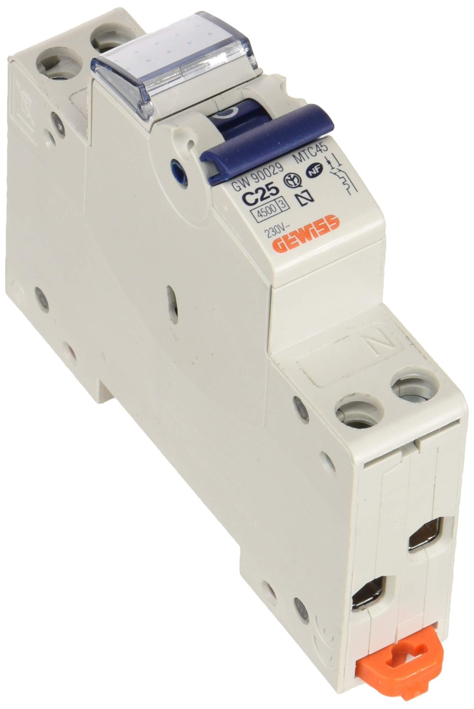 Gewiss GW90025 GW90025 Automatic Fuses ABB Circuit Breaker Automatic