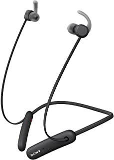 Sony WI-SP510 Wireless Sports Extra Bass in-Ear Headphones with 15 hrs Battery Life, Quick Charge, Magnetic Earbuds, Bluet...