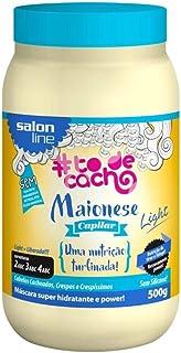Salon Line Máscara 500G Maionese Capilar To De Cacho Light