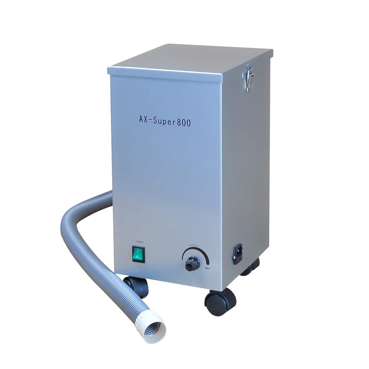 結び目素人老人APHRODITE 静音真空集塵機 ダストコレクター AX-SUPER800 小型 静音 可搬式