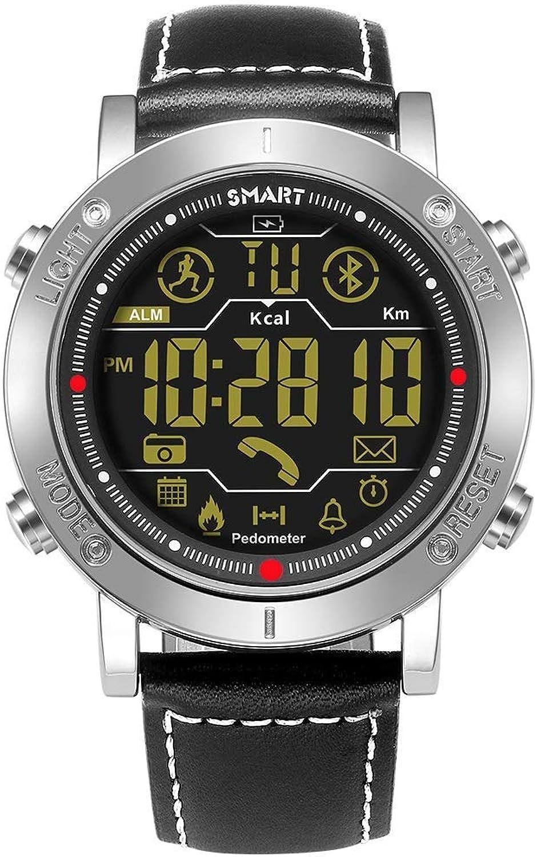 HYLH Outdoor Smart Watch,Waterproof Fitness Activity Tracker Bracelet with Blautooth Running Wrist Watch